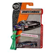 Matchbox Lamborghini Toy Car - Black