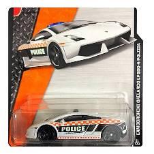 Matchbox Lamborghini Gallordo LP560-4 Polizia Metal  Toy Car – White