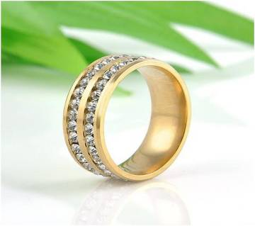 Golden Alloy ফিঙ্গার রিং for Women