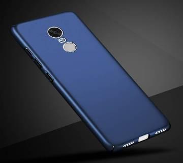 Xiaomi Redmi 5 Plus Luxury Blue Plastic Case