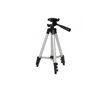 Canton TF-3110 Portable Tripod Stand For Camera and phone - Black and Silver