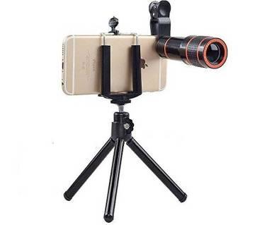Universal Clip 8X Zoom Mobile Phone Telescope