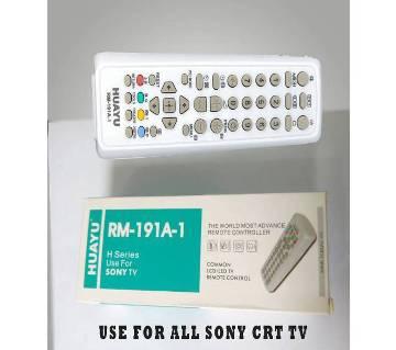 SONY CRT TV REMOTE