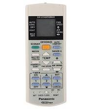 AC Remote Panasonic Inverter - White (Match Your Old Remote)