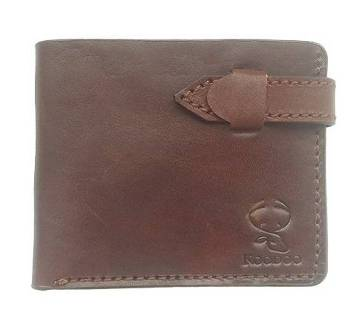 Genuine Cowhide Leather Wallet for Men with ID Window, Card Holders