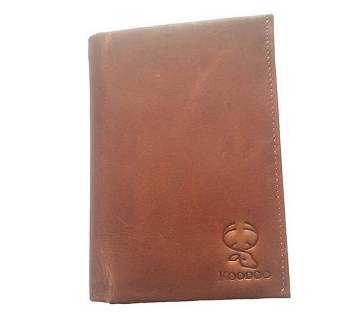 100% Genuine Leather Wallet for Men with Coin Pocket, ID Window, Card Holders