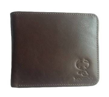 Genuine Buffalo Leather Wallet for Men with Zipper Coin Pocket, ID Window, Card Holders