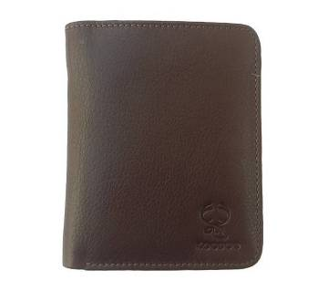 Genuine Leather Wallet for Men with Zipper Coin Pocket, ID Window, Card Holders