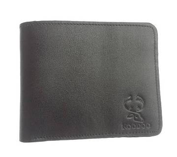 Leather Wallet for Men with ID Window, Card Holders