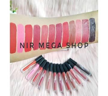 Huda Beauty Liquid Matte Lipstick - Set of 12 (Multi color)-USA