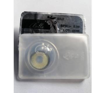bella contact lens   - gold