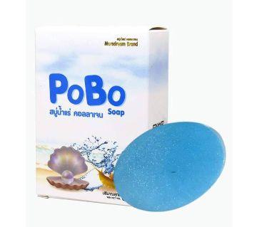 Pobo minarel collagen soap  -60gm-Thailand