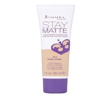 RIMMEL STAY MATTE foundation-30ml-UK
