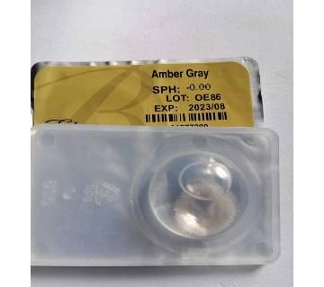 Bella Elite contact lens  - amber gray
