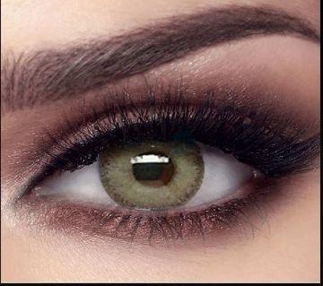 Bella Elite  - gray olive contact lens