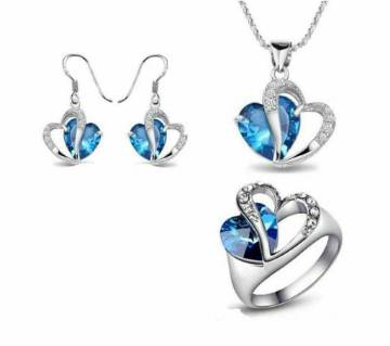 Heart of Ocean Pendant set