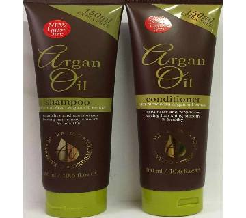 Argan Oil Pack of Shampoo and Conditioner With Moroccan Argan Oil Extract - 300ml - UK
