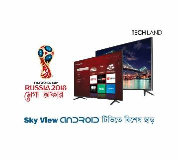 "Sky View 32"" Smart Android LED টিভি"
