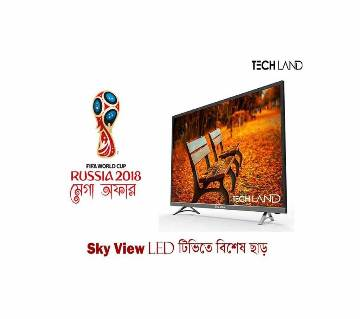 "Sky view 40"" led TV"