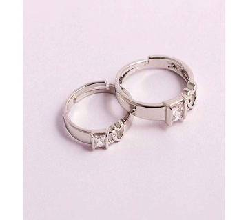 Silver Couple Ring