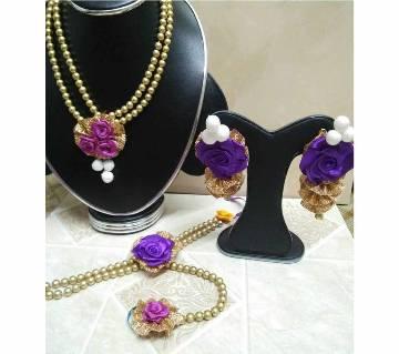 Pearl Setting Jewellery Set
