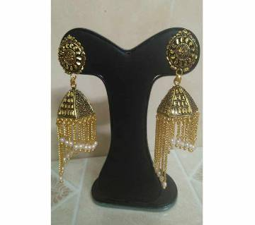 Gold Plated Vintage Earring