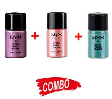 NYX Loose Pearl Eye Shadow - (3 Colors) Combo Offer