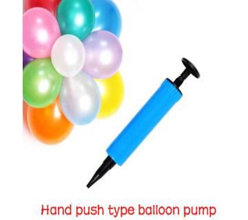 Hand Push Type Balloon Pumper  (Big Size)
