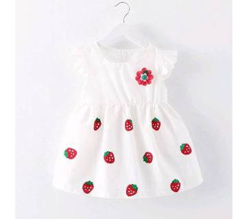 Cotton Frock for Baby Girls - 3 to 5 years