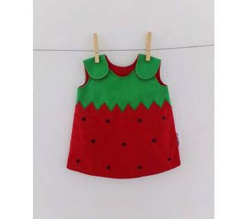 Cotton Dress for Baby Girls - 0 to 2 years