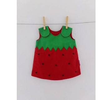 Cotton Dress for Baby Girls - 3 to 5 years