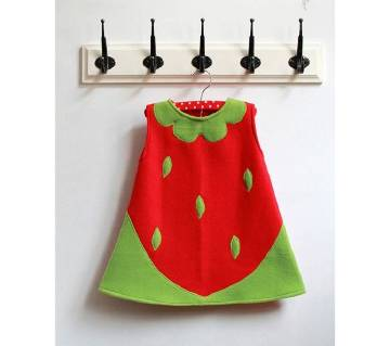 Cotton Frock for Baby Girls - 0 to 2 years