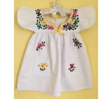 Cotton Frock for Baby Girls - 3 to 5 year