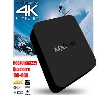 MXQ 4K anroid Tv box