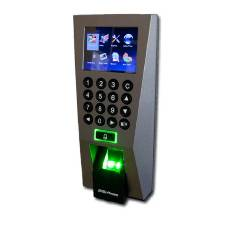 ZKTeco Fingerprint F18 Standalone অ্যাকসেস কন্ট্রোল and Time Attendance With Adapter