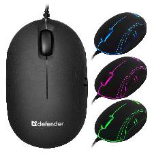 Wired Optical Mini Rainbow Mouse