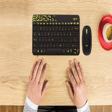 Logitech MK240 Nano Wireless Keyboard