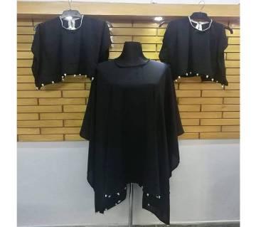 Ladies Abaya Dress Set (3-in-1)
