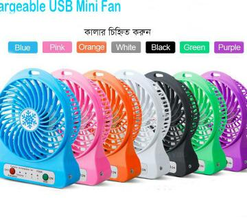 Rechargeable USB Mini Fan With Powerbank
