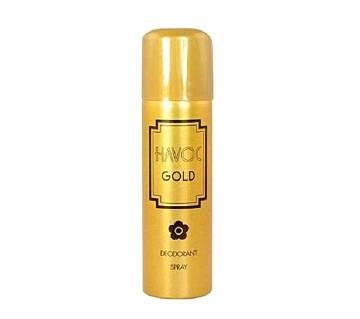 HAVOC BODY SPRAY GOLD For Men  (Dubai)