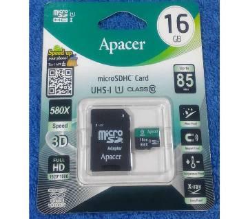 Apacer Micro SD 16GB মেমোরি কার্ড