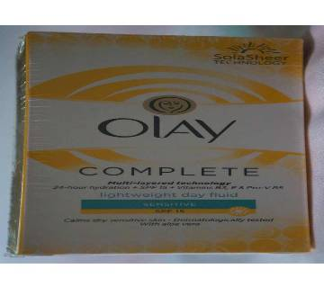 Olay Complete Moisturiser Fluid Normal/Oily 100ml - UK