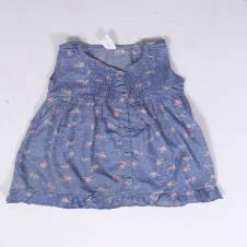 Floral Sleeveless Dress for Baby Girl