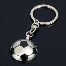World Cup Half Football Metal Key Ring
