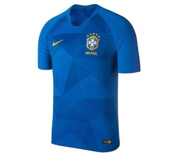 2018 World Cup Brazil Half Sleeve Away Jersey (Copy)