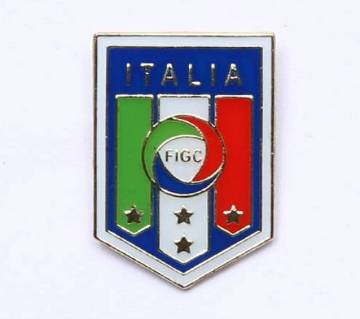 Italy Football Logo Lapel Pin