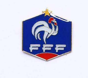 France Football Logo Lapel Pin