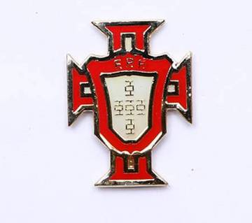 Portugal Football Logo Lapel Pin