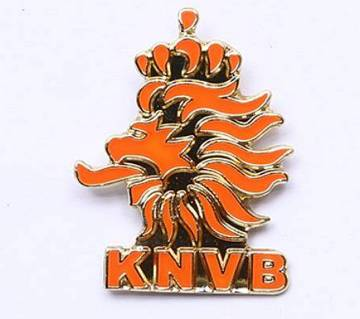 Netherlands Football Logo Lapel Pin