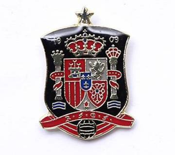 Spain Football Logo Lapel Pin